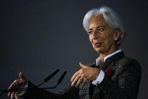 Christine Lagardová, šéfka Európskej centrálnej banky
