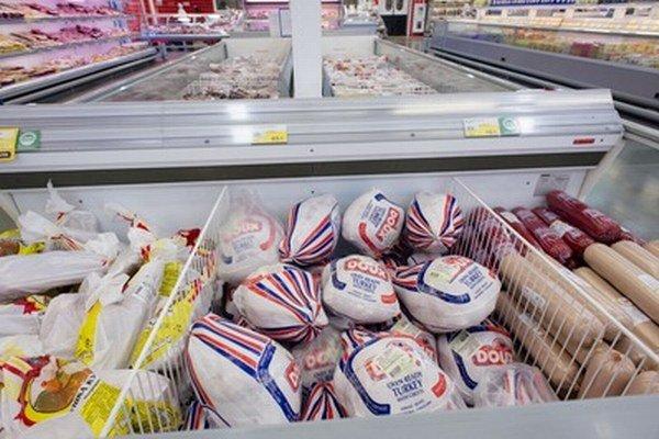 Supermarket v Novosibirsku.