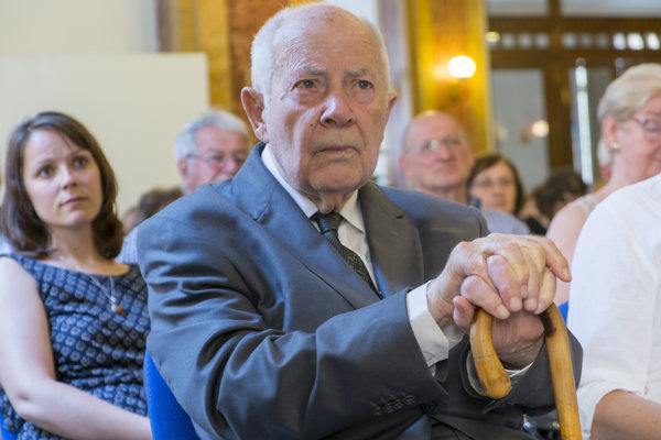Básnik Viliam Turčány na snímke z roku 2015.