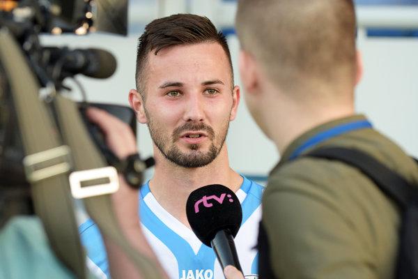 Tomáš Vestenický strelil svoje prvé dva góly vo Fortuna lige.