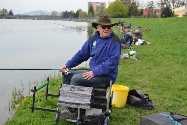 Rastislav Duda veľké ryby nechytá.