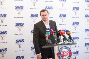 Predseda SNS Andrej Danko.