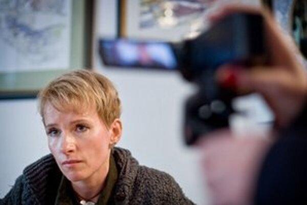 Filmárka Zuzana Piussi.