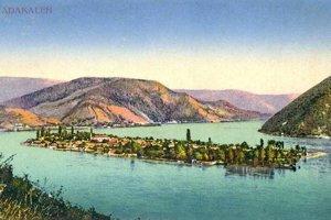 Ostrov Ada Kaleh sa nachádzal v strategicky dôležitej časti Dunaja – legendárnych Kataraktoch.