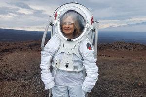 Michaela Musilová - predsedníčka Slovenskej organizácie pre vesmírne aktivity