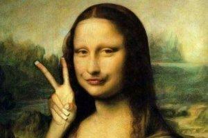 Mona Lisa po desiatich dňoch na Facebooku.