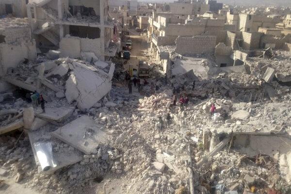 Útoky na provinciu Idlib sa už začali. Sú v nej asi dva milióny civilistov.