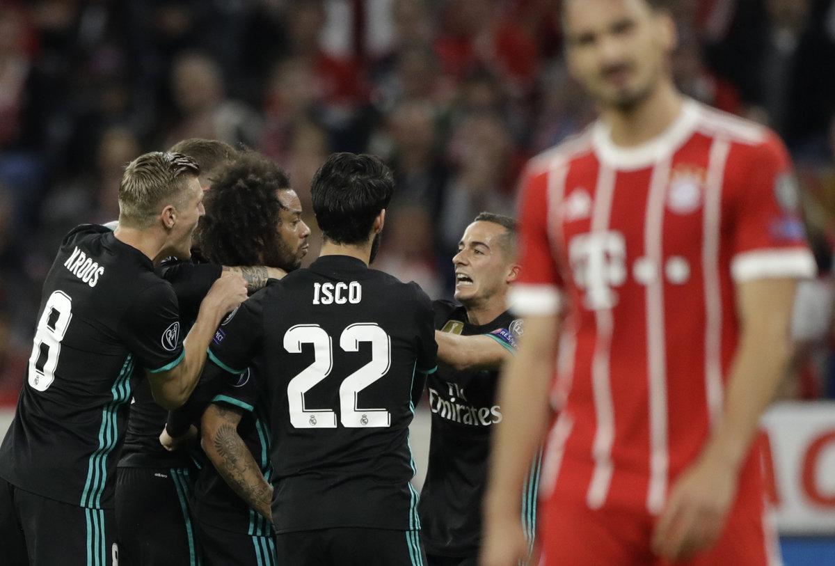 a6292ce954b65 Bayern : Real Madrid - Liga majstrov 2017/2018 - Online - Šport SME