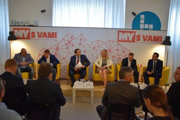 Diskusia Smart cities v Žiline.