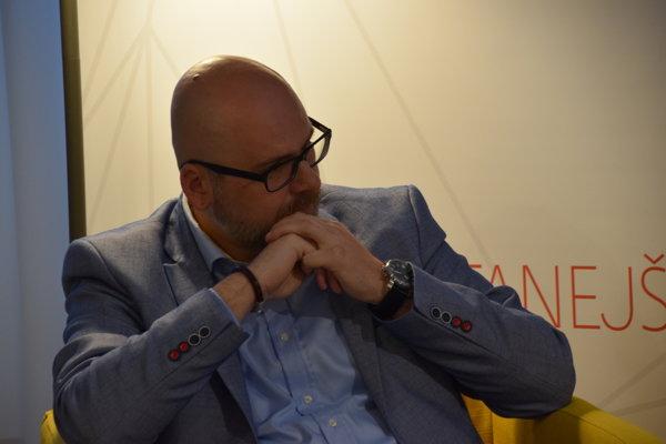 Michal Kaliňák – hovorca a tajomník Rady expertov ZMOS.