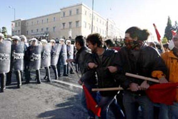 Nová ľavica útočí. V Grécku.