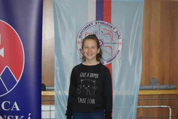 Ema Fungáčová si zo slovenského šampionátu doniesla bronz