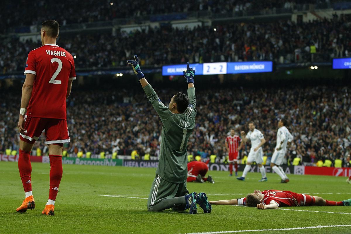 16e982bde22ec Real Madrid : Bayern - Liga majstrov 2017/2018 - Online - Šport SME