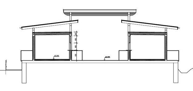 Nákres trhovníckeho domčeka