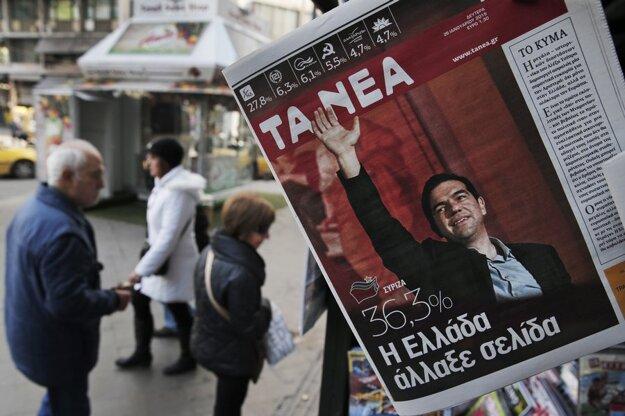 Atény po voľbách. FOTO - SITA/AP