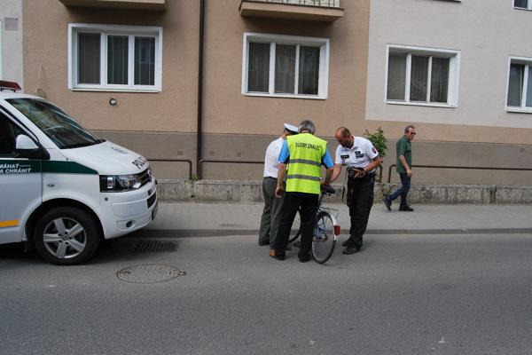 Vážna dopravná nehoda sa stala na Weisseho ulici.