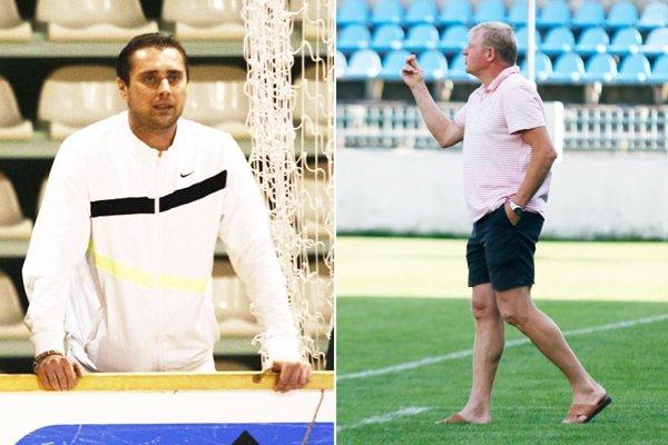 Milana Šándora (vľavo) nahradil Dušan Liba.