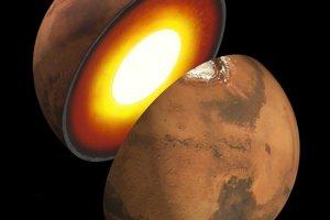 Umelecké zobrazenie vnútra Marsu. Jeho hblšie preskúmanie pomôže vedcom určiť, ako sa formoval Mars a iné kamenné planéty.