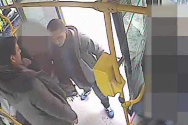 Momentka z autobusu.