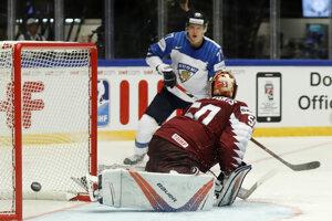 Hokejisti Fínska zdolali Lotyšsko.
