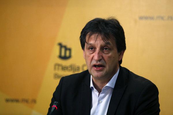 Odvolaný srbský minister Bratislav Gašič.