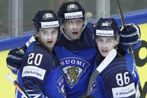 Hokejisti Fínska (ilustračná fotografia).