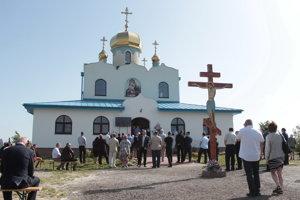 V Holíči postavili a posvätili pravoslávny chrám.