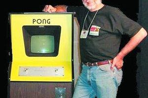 Nolan Bushnell, autor prvého úspešného hracieho automatu Pong.