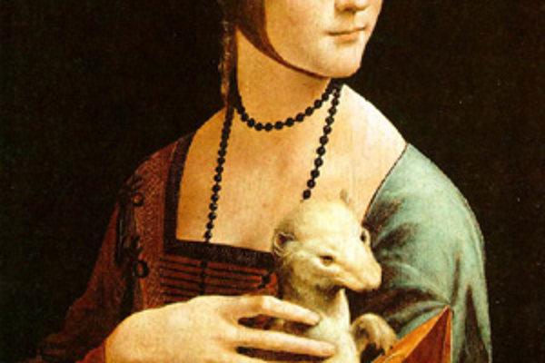 Dáma s hranostajom a Ludovico Sforza (pod článkom).