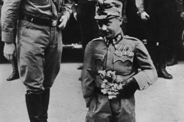 Hitler a Dollfuss.