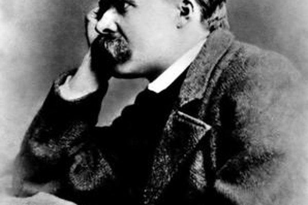 Nietzsche na fotografii z roku 1882.