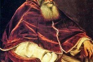 Tizianov portrét pápeža Pavla III.
