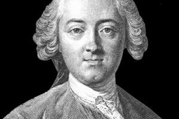 Osvietenský filozof Claude Adrien Helvétius.