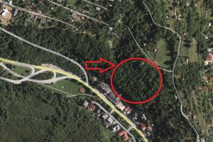 Pozemky nad Baránkom vlastní investor, približne takto by mala byť stavba umiestnená.