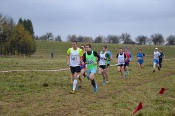 Snímka z pretekov míliarov.