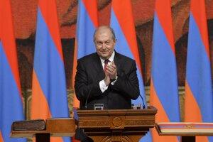 Arménsky prezident Armen Sarkisjan.