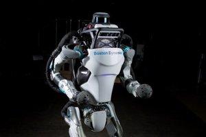 Robot Atlas od spoločnosti Boston Dynamics.
