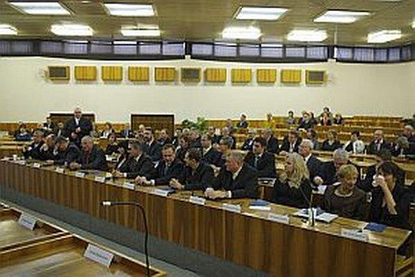 Noví poslanci volili aj poradné orgány.