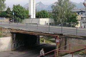 Most na Francisciho ulici.