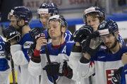 Slovenskí hokejisti sa rozlúčili so šampionátom triumfom nad Bieloruskom.