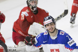 Slovenskí hokejisti sa so šampionátom rozlúčili víťazstvom.
