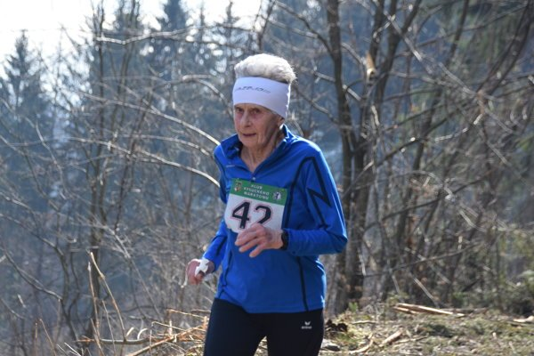Mária Marcibálová, 83-ročná vytrvalkyňa.