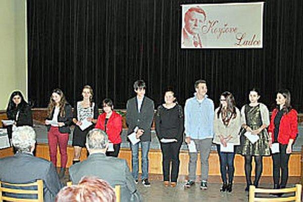 O súťaž prejavili záujem interpreti z celého Slovenska.