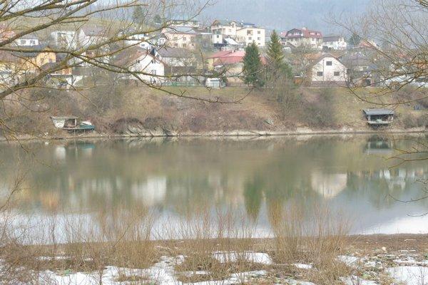 Prístrešky rybárov v ústí rieky Hornád v obci Margecany.
