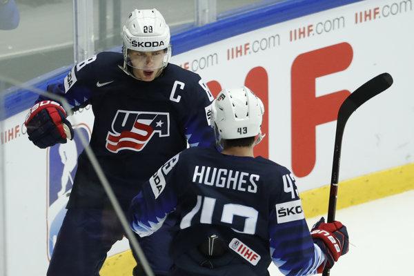 Hokejisti USA zdolali Česko.