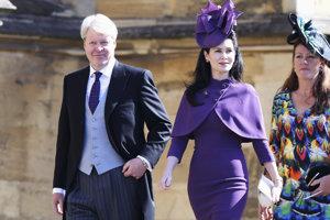 Charles Spencer, strýko princa Williama, a jeho manželka grófka Spencerová.