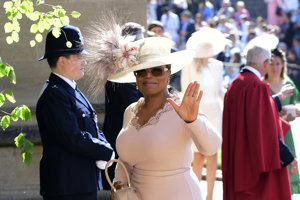 Moderátorka Oprah Winfreyová.