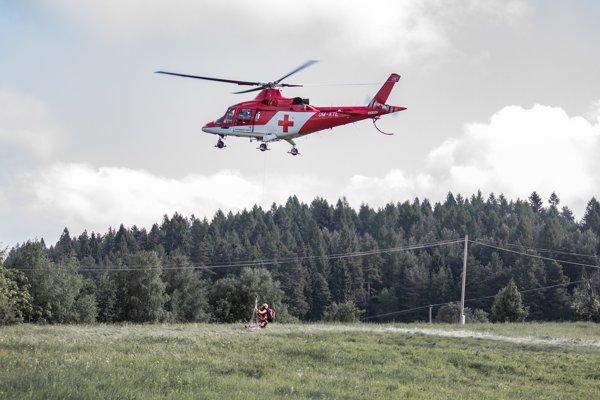 Záchranná akcia pri Uloži.