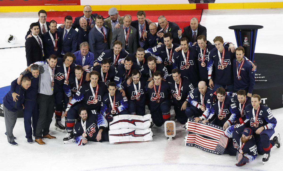 0cc35cbaec8d3 USA : Kanada - O bronz - Online - MS v hokeji 2018 - Šport SME