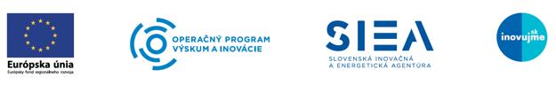 Národný projekt Zvýšenie inovačnej výkonnosti slovenskej ekonomiky realizuje Slovenská inovačná a energetická agentúra. Spolufinancovaný je z Európskeho fondu regionálneho rozvoja v rámci  operačného programu Výskum a inovácie.